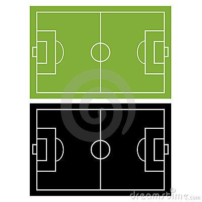 400x400 Football Field Diagram Black And White Clipart Panda