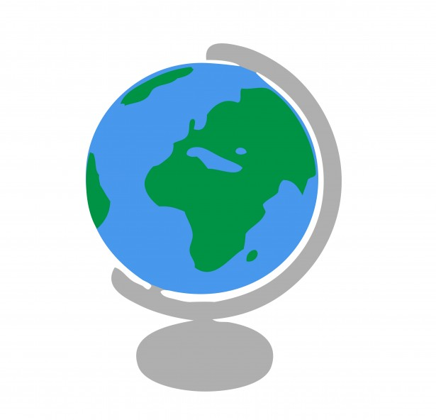 615x592 Clipart Globe Clipartmonk