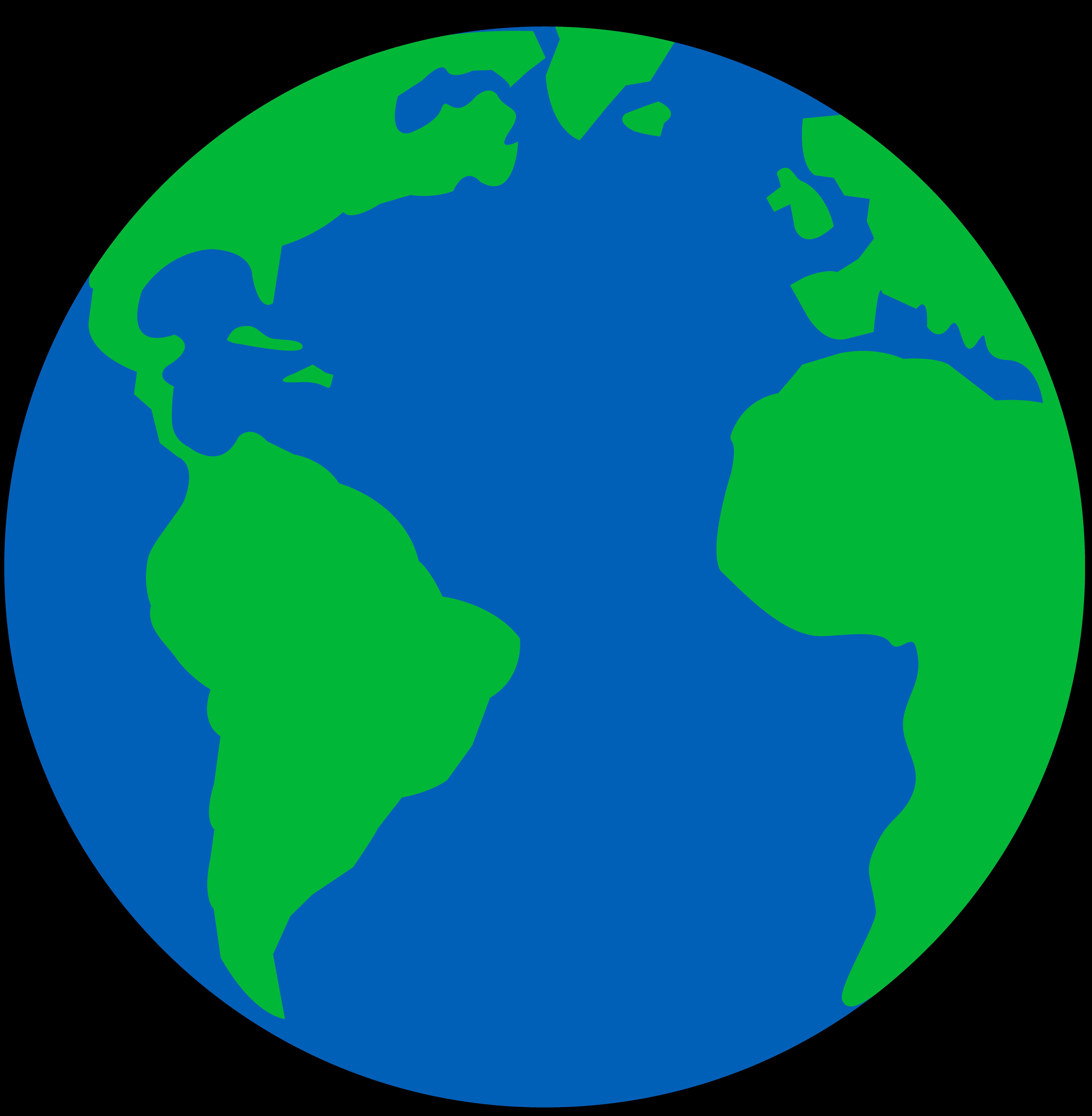 7647x7814 Easy Globe Cliparts