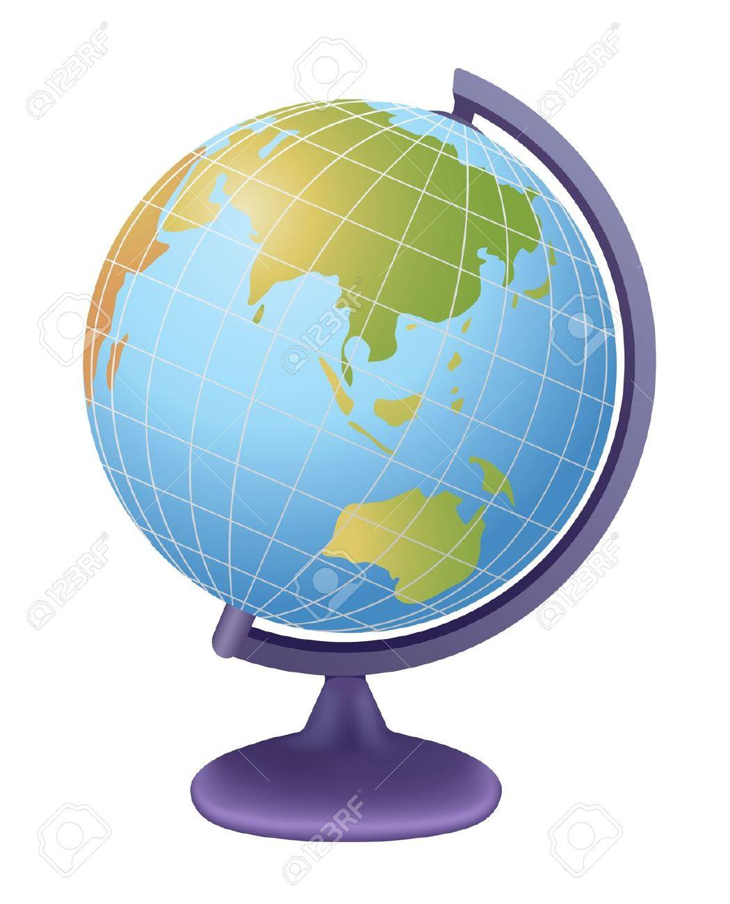 1050x1300 Globe Clipart School