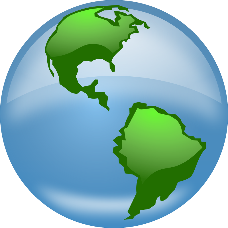 800x800 Globe Earth Clipart Black And White Free Images 2