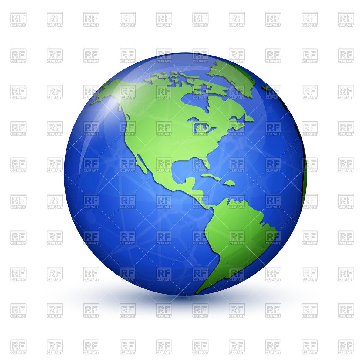1200x1200 World Globe Icon Royalty Free Vector Clip Art Image