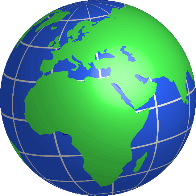 635x635 Clipart Of Globe