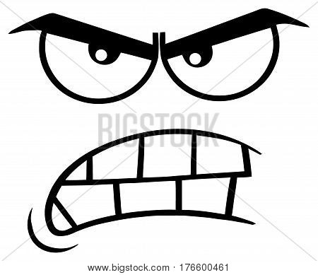 450x389 Angry Face Images, Illustrations, Vectors