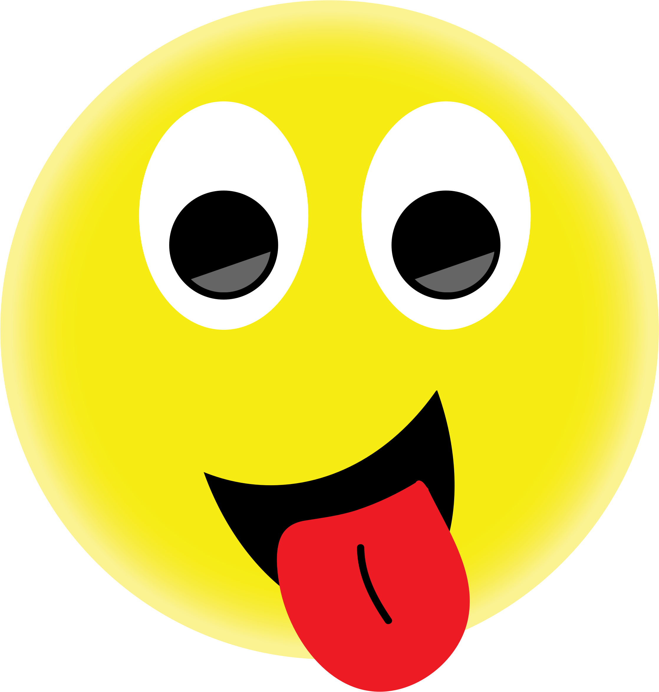2236x2346 Smiley Faces With Tongue Out Group