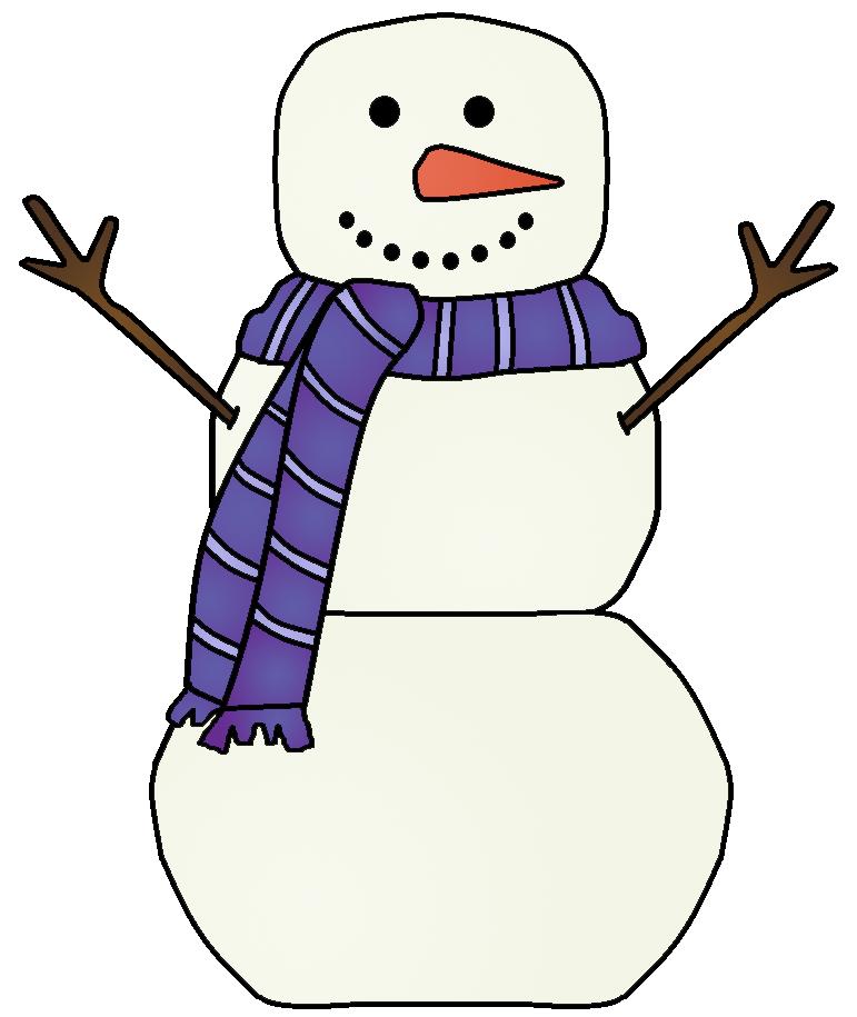 771x915 Snowman Clipart 7