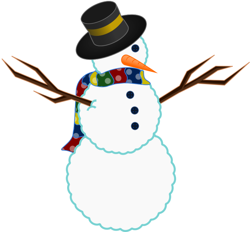 800x738 Snowman Clipart Microsoft Free Clipart Images