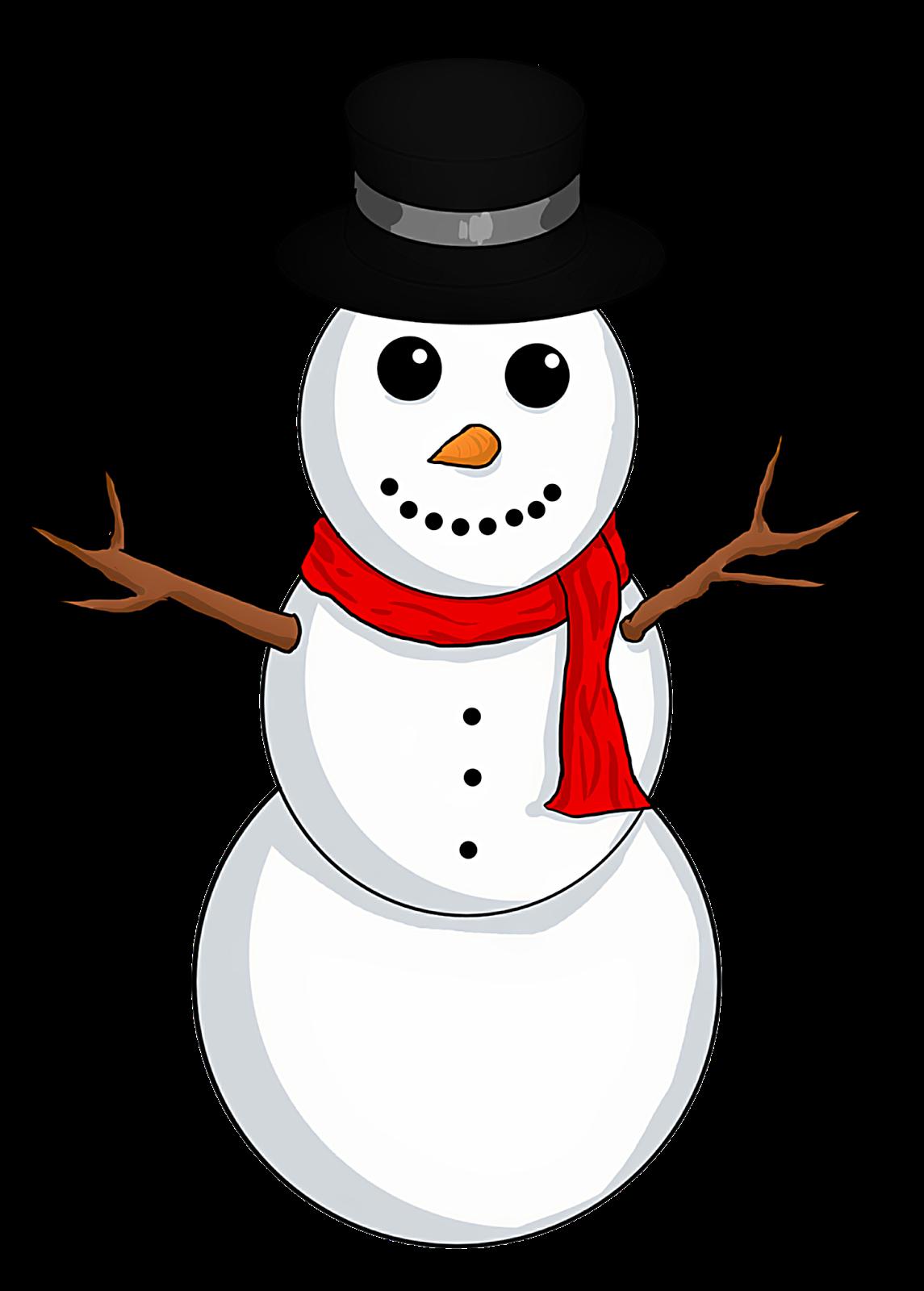 1145x1600 Christmas Snowman Clipart 4