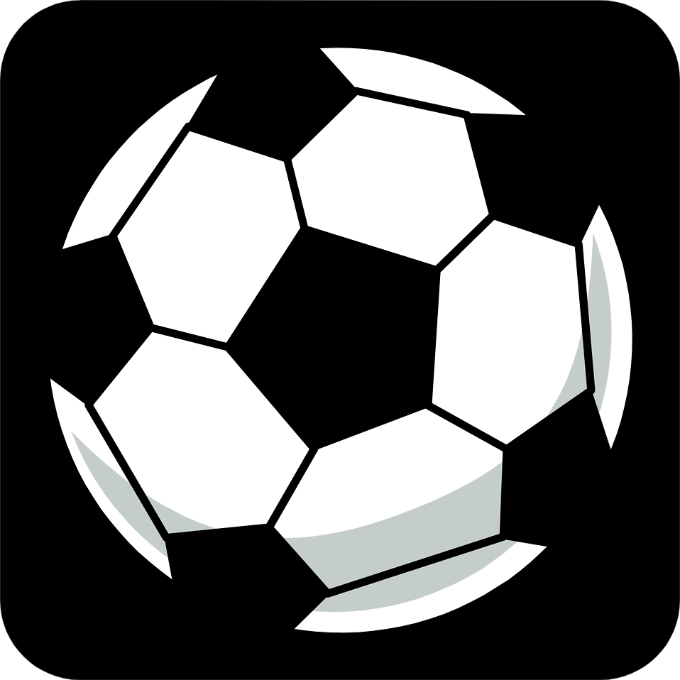 958x958 Soccer Ball Free Stock Photo Illustration Of A Soccer Ball