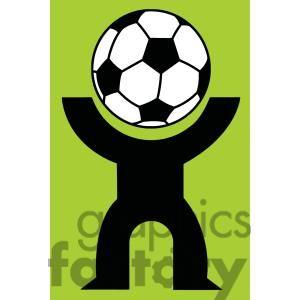 300x300 18 best Soccer Clipart images Clip art, Silhouette