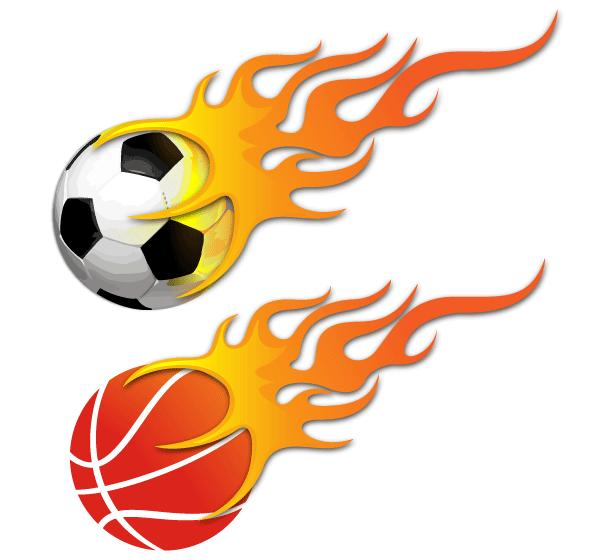 600x560 Grunge Soccer Ball Vector 123Freevectors