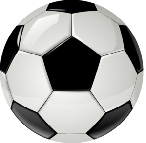 299x294 Realistic clipart soccer ball