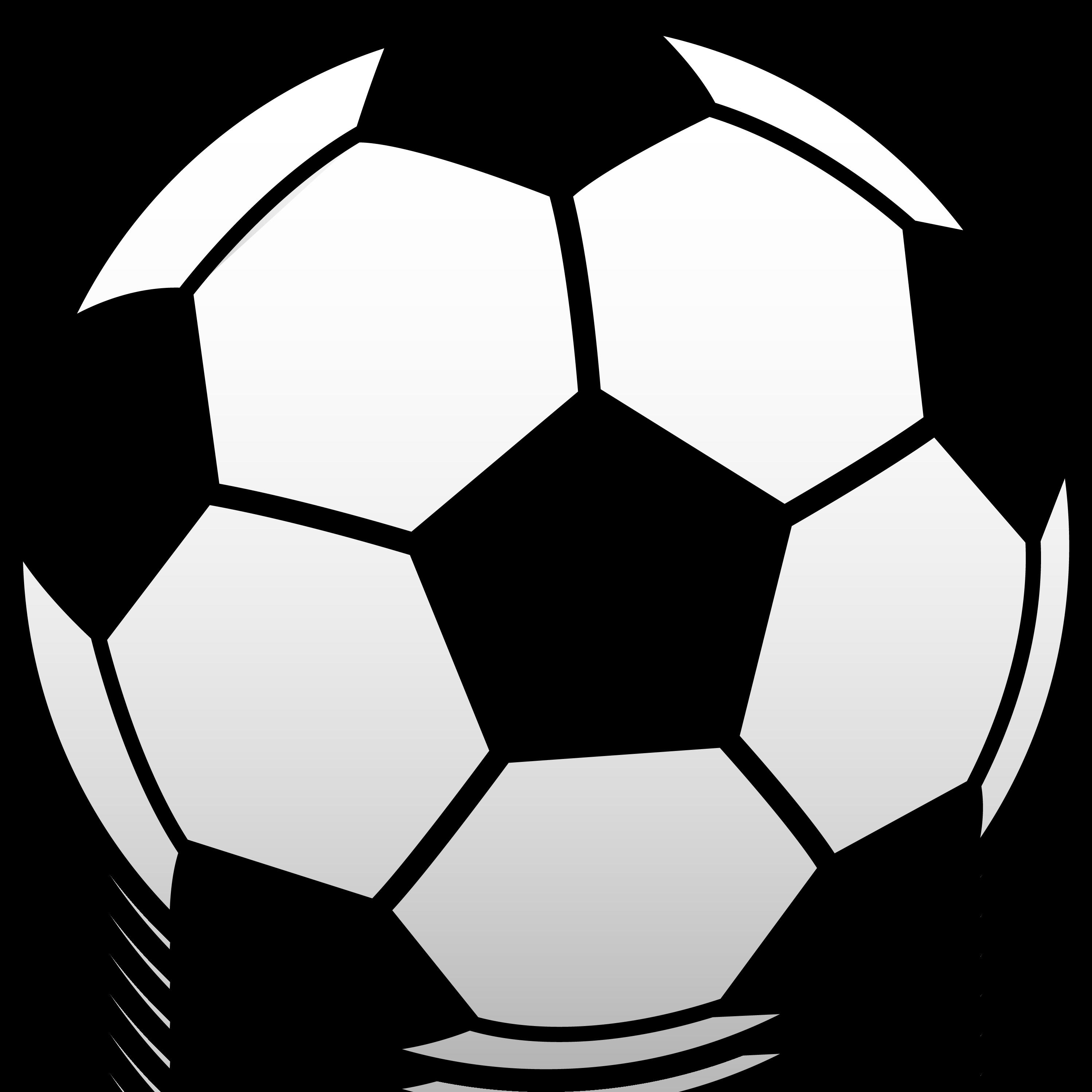 2997x2997 Soccer Ball Clipart
