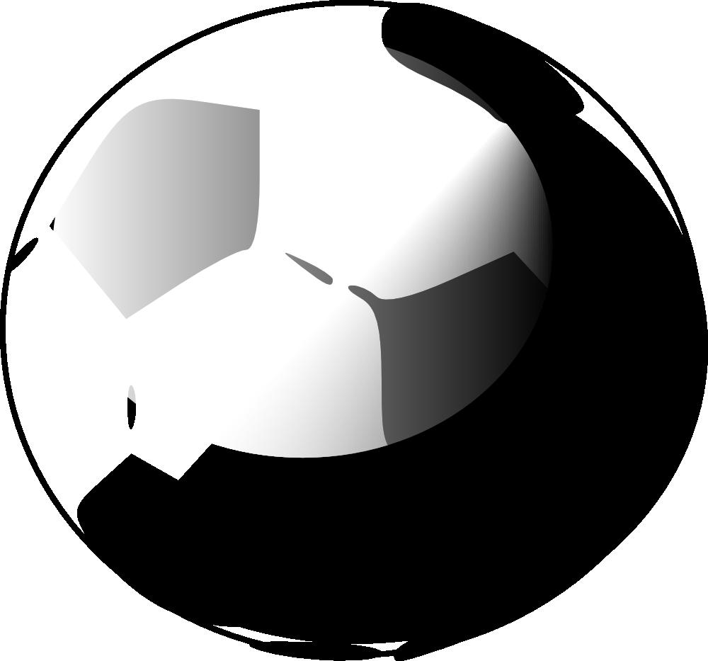 1000x933 Soccer ball clip art 9 –