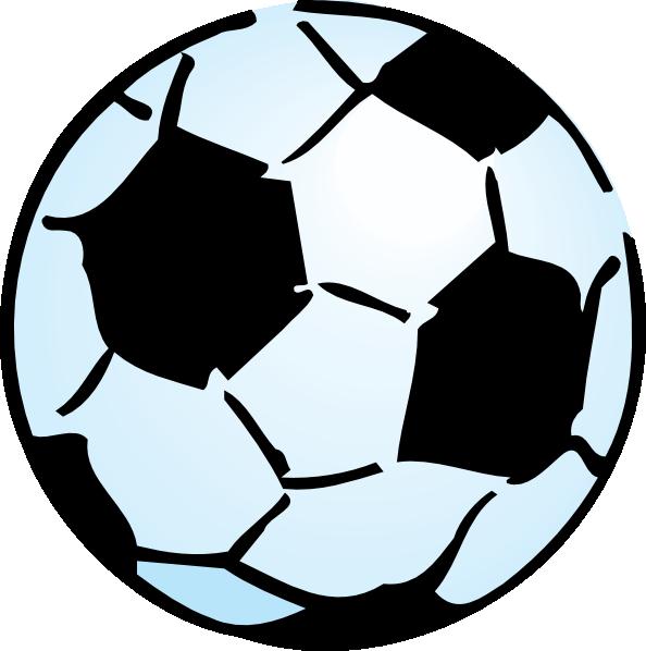 594x598 Advoss Soccer Ball Clip Art