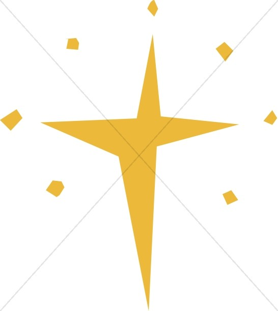 546x612 Cut Out Natal Star Epiphany Clipart