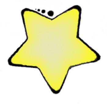 350x342 Yellow Clipart Yellow Star