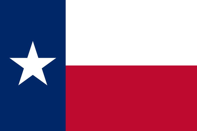 800x533 Texas State Flag