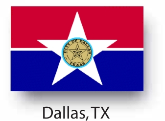 337x247 Buy The Flag For The City Of Dallas Texas