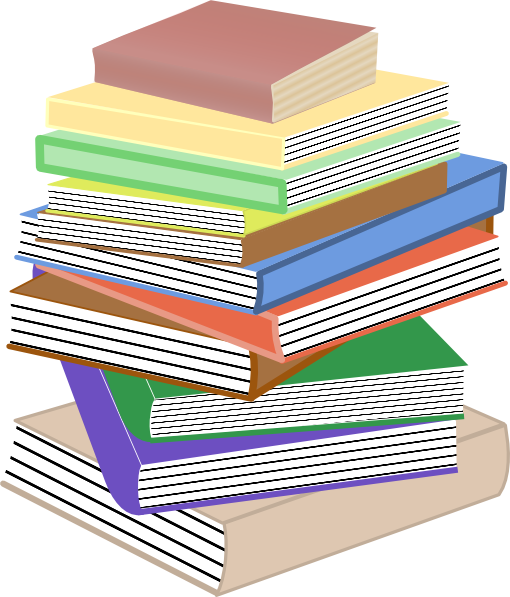510x597 Stack Of Books Clip Art Pile Of Books Clipart