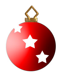 200x255 Clipart Christmas Ornament