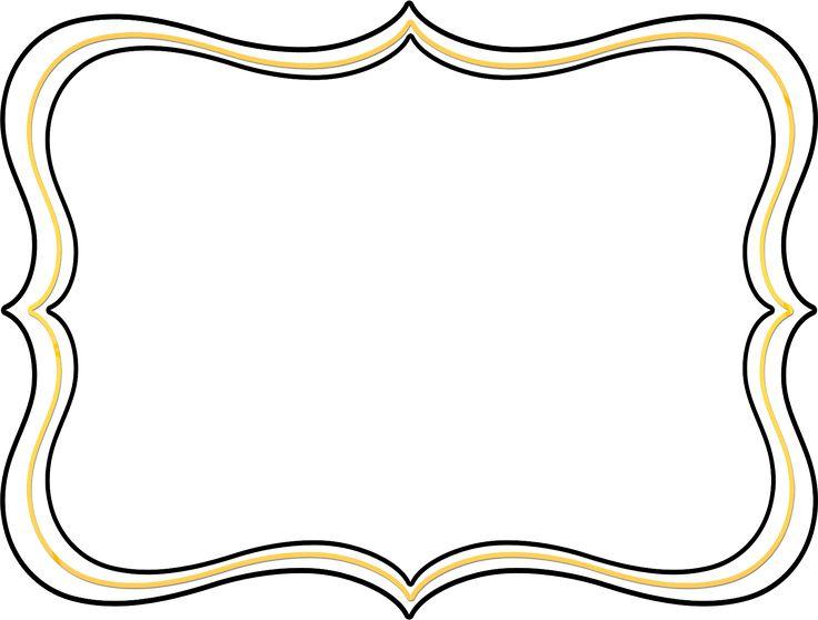 736x558 Invitation Frame Clipart