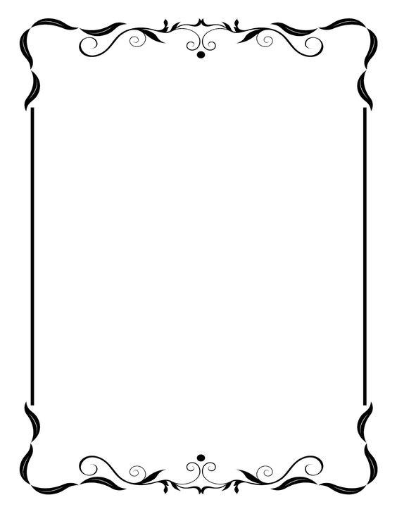 564x730 Frame Clip Art