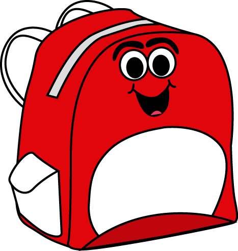 467x493 Backpack Clipart Lalolalo Backpack