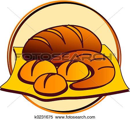 450x415 Bakery Clipart