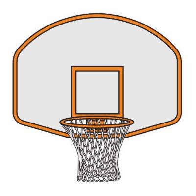 400x400 Clipart Of Basketball Hoop