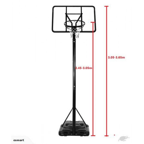 500x500 New Basketball Hoop And Stand System Free Shipping