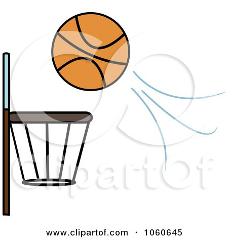 450x470 Royalty Free (Rf) Basketball Hoop Clipart, Illustrations, Vector
