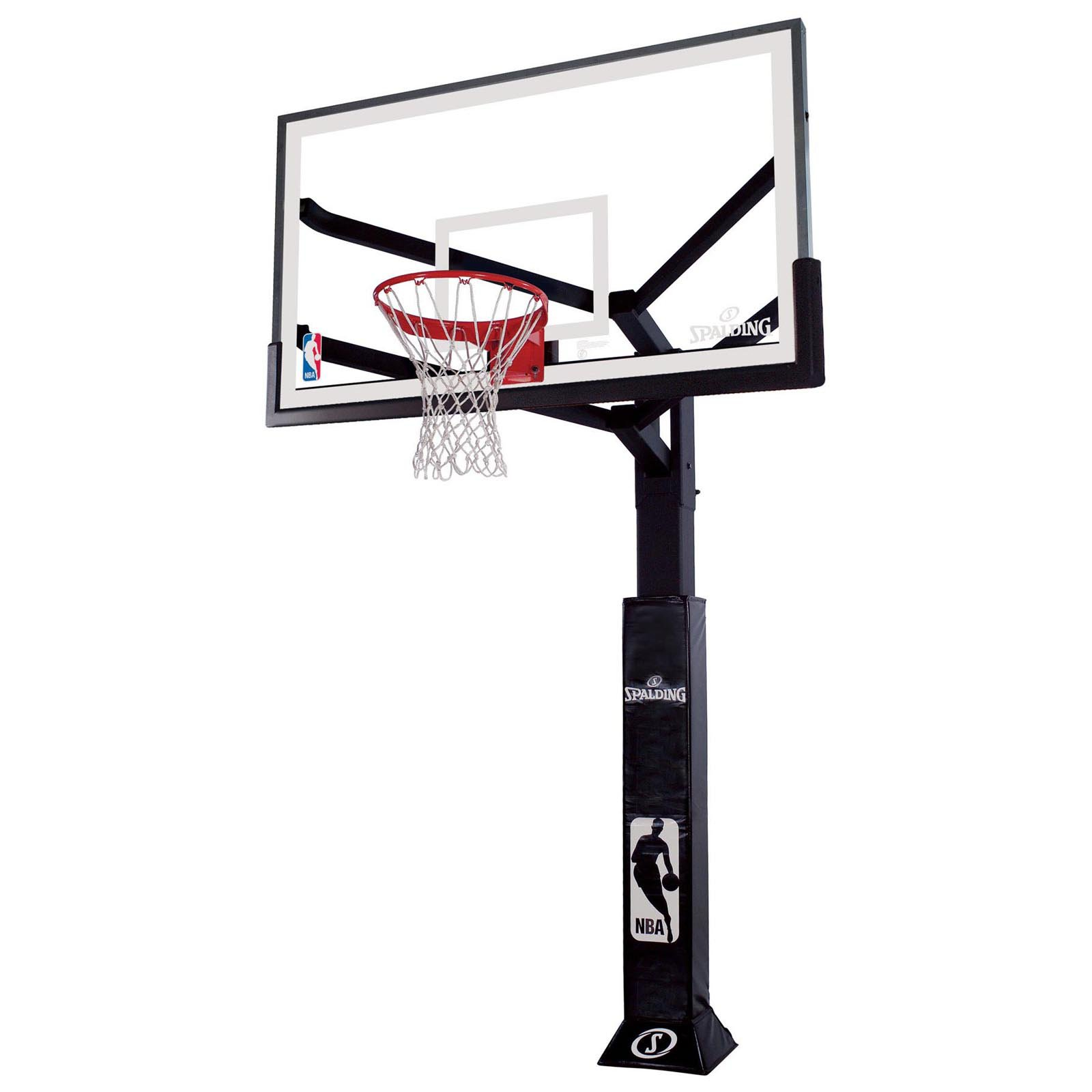 1600x1600 Spalding Arena View Inground Basketball Hoop System Hayneedle