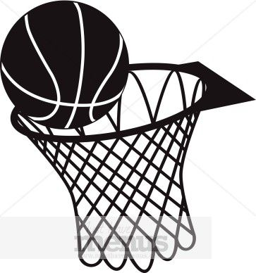 363x388 Basketball%20clipart Silhouette Basketball Hoop