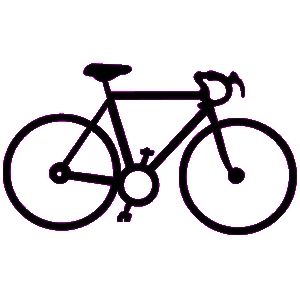 300x300 Bicycle Clipart Rode