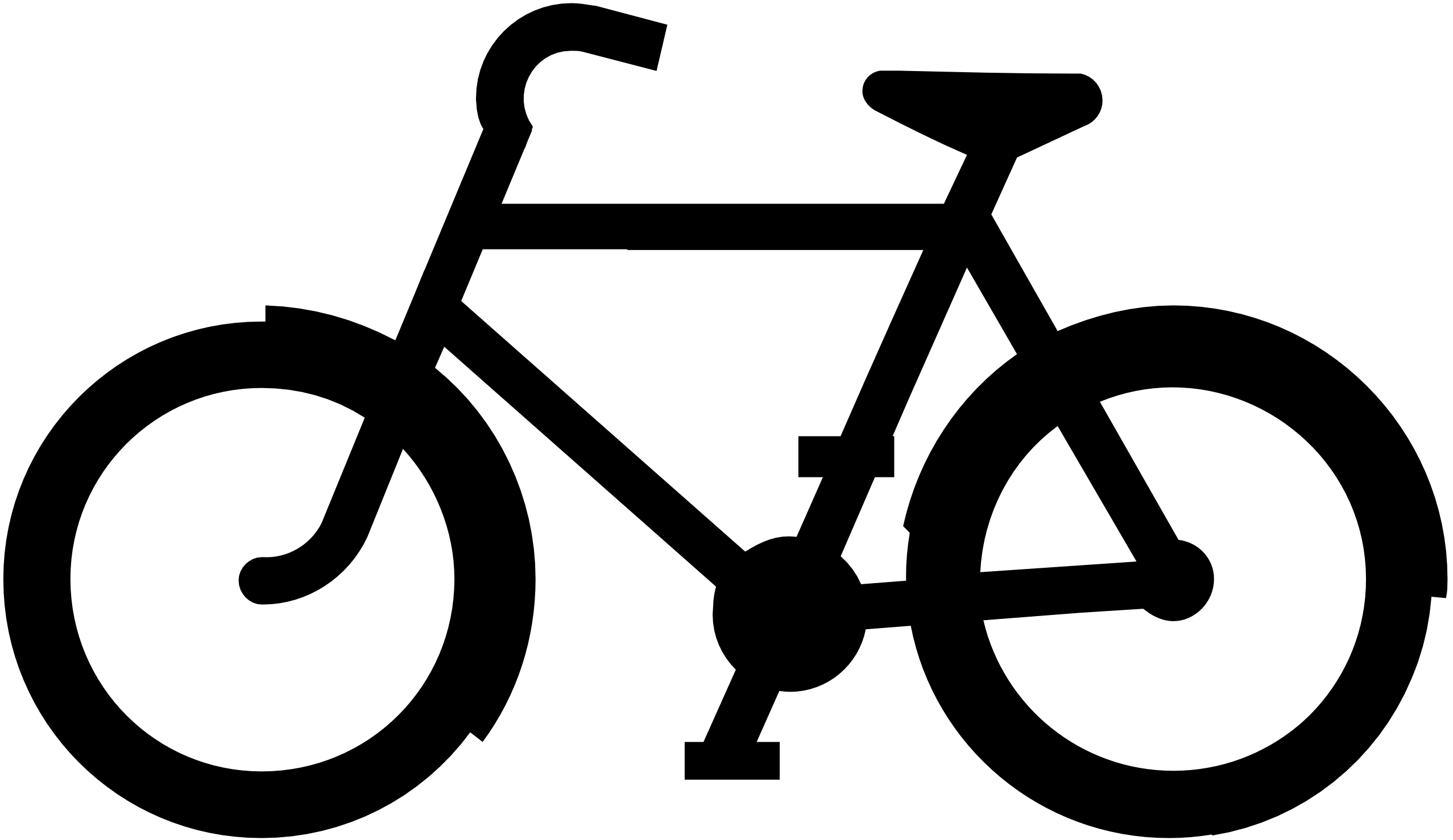 2555x1478 Bicycle Clipart Vector
