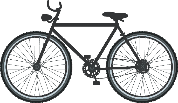 686x399 Bikes And Bicycles Clipart The Arts Media Gallery Pbs