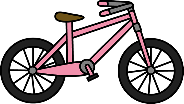 600x340 Bicycle Clip Art