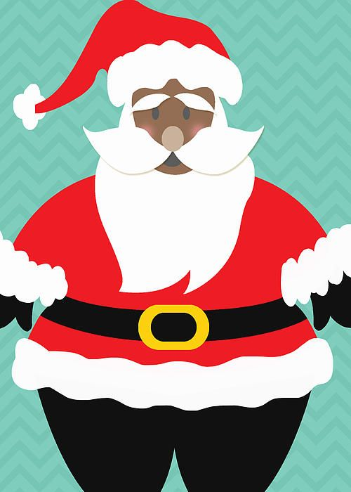 Picture Of A Black Santa Claus