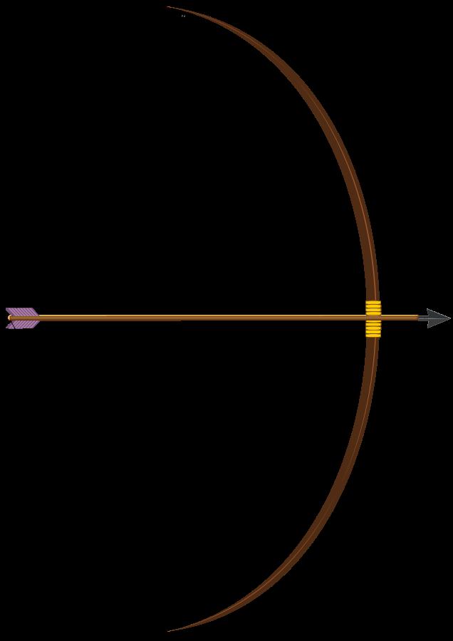 636x900 Bow And Arrow Vector