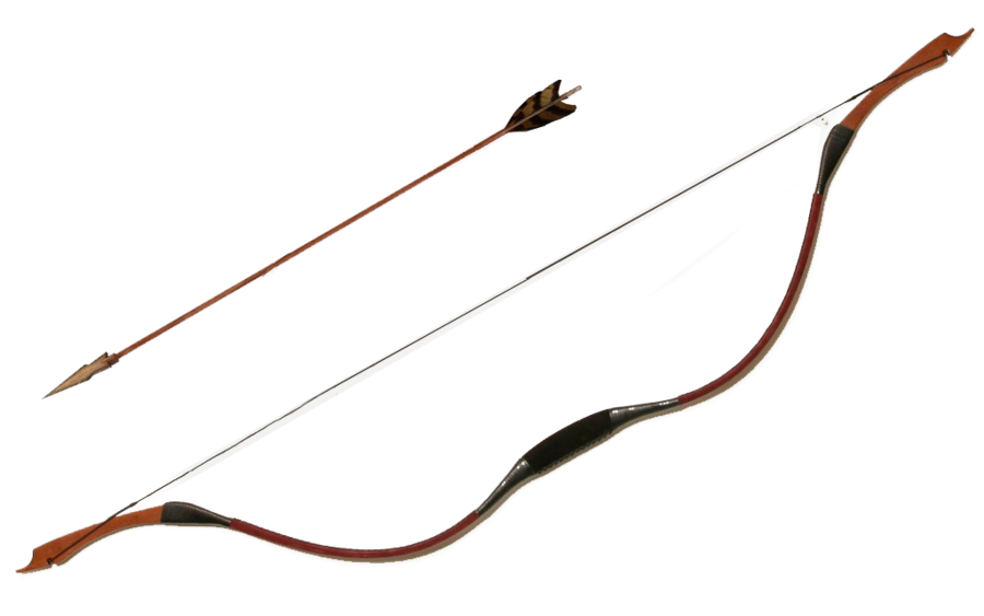 900x563 Bow And Arrow By Juciely