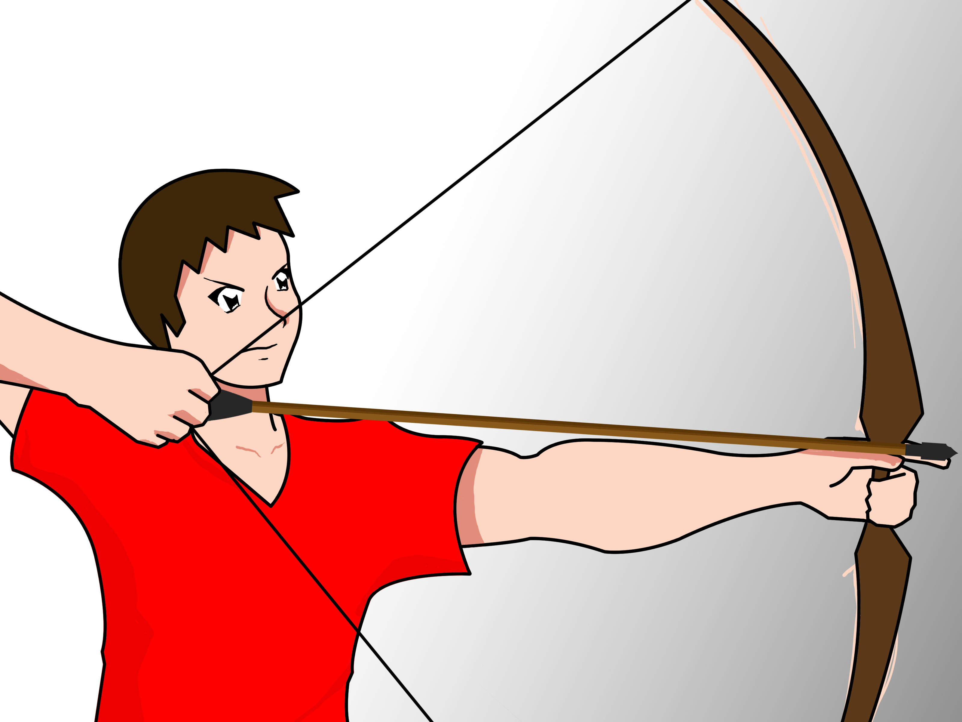 3200x2400 How To Shoot A Bow Accurately 4 Steps (With Pictures)
