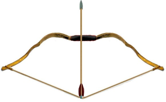 580x357 Indian Bow And Arrow Clipart