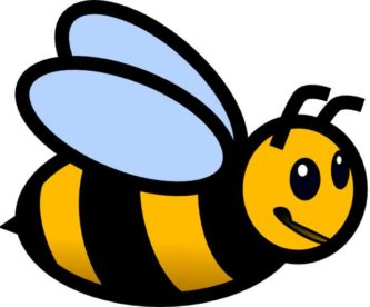 333x276 Blue Bumble Bee Clipart, Free Blue Bumble Bee Clipart