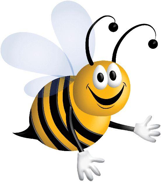 576x623 Bumblebee Clipart Singing Bee
