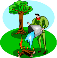 221x225 Camp Fire Clipart Camp Rules