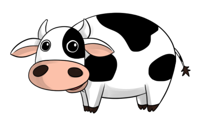 696x425 Cartoon Pictures Of Cows Collection