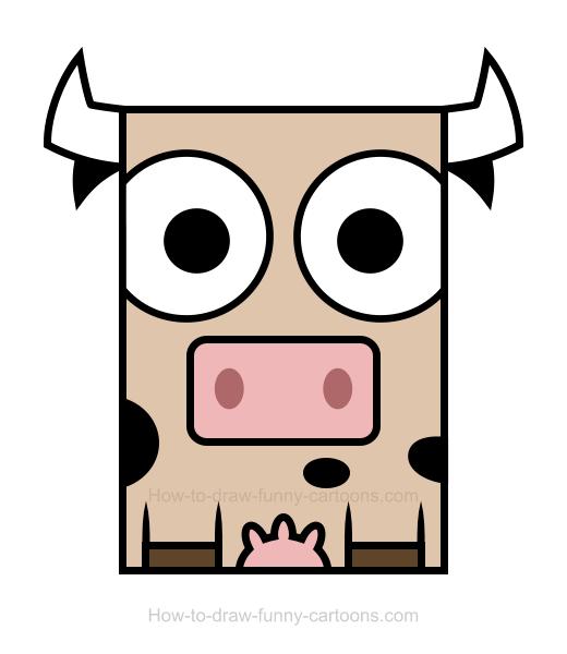 520x600 Cow Clipart