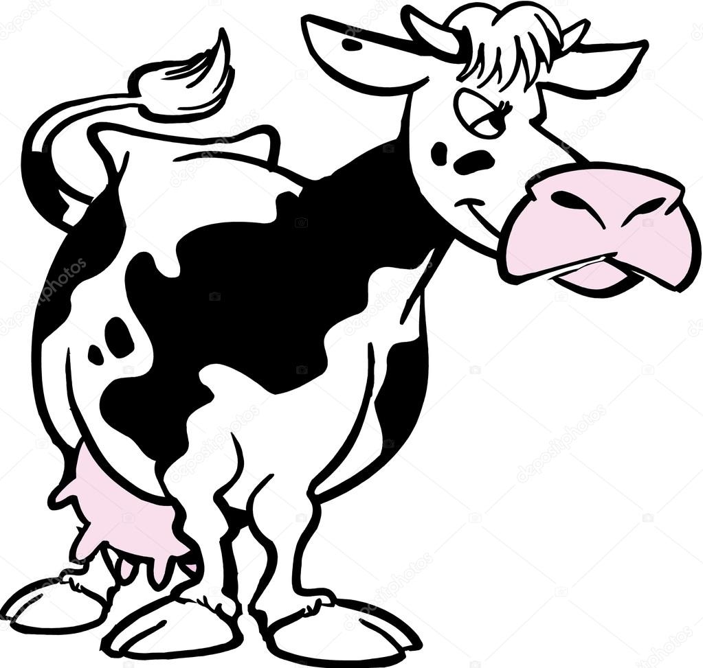 1023x973 Cow Cartoon Stock Photos, Royalty Free Cow Cartoon Images