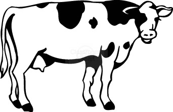 342x222 Cow Clip Art Free Cartoon Free Clipart Images 2